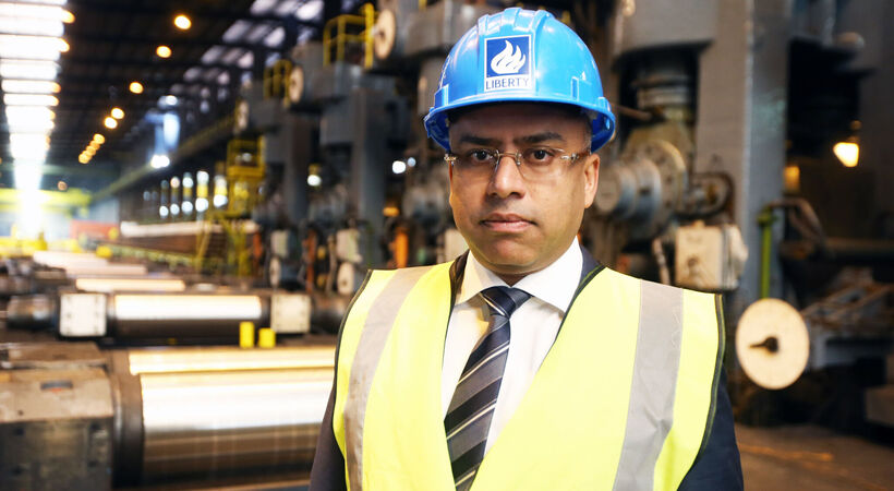 "Sanjeev Gupta: ""We have challenged ourselves to think differently across our product mix."""