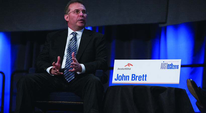 "John Brett: ""We know that steel has an essential role to play in a sustainable and resilient future for society."""