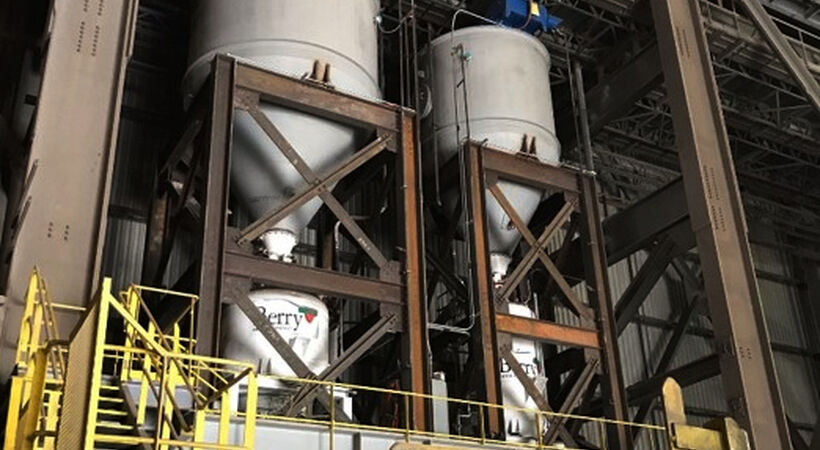 """The pneumatic lime system will give BRS operators fast and precise control of their lime mix so operators can better utilise raw materials in the melting process,"" said David Werner, president of Berry Metal Company."