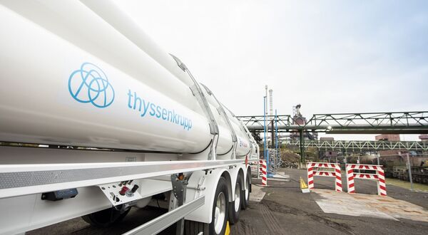 thyssenkrupp steel: phase one of Duisburg hydrogen tests completed