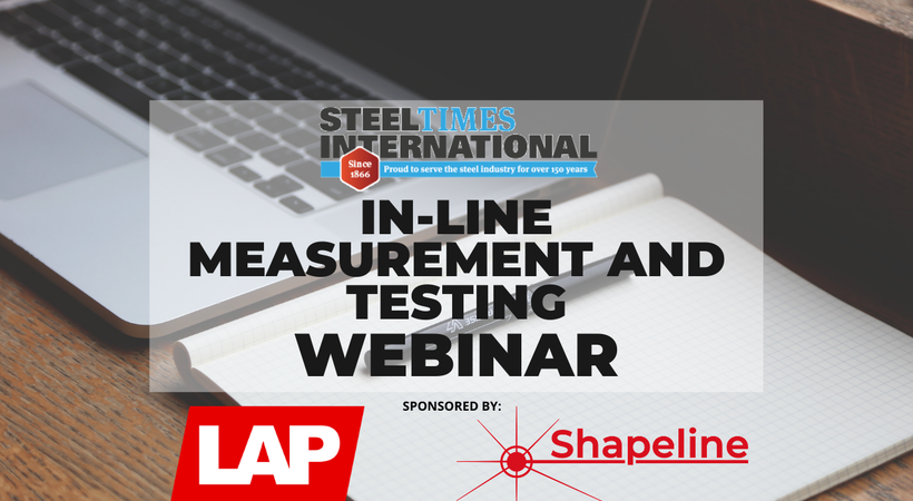 In-Line Measurement and Testing Webinar- sponsored by LAP and Shapeline
